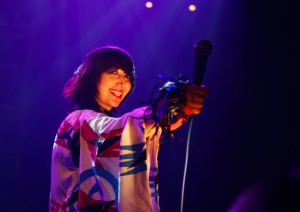 Yeah Yeah Yeahs at the Roundhouse (Credit Andy Wilsher)